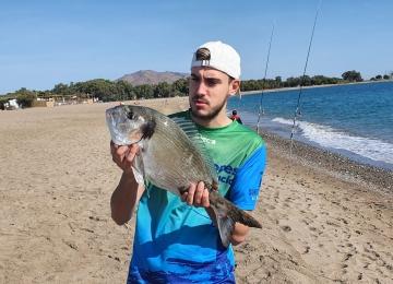 pescar surfcasting Dorada