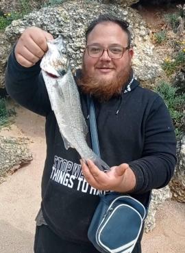 pescar surfcasting Lubina